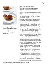 """Chocolate  Creme Caramel with Milk, not cream! I saw this in """"Book Roundup"""" in Martha Stewart Living October 2014."""