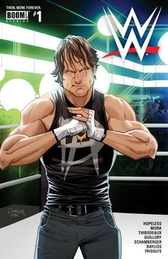WWE – Then. // Building off the buzz from the partnership announcement prior to San Diego Comic-Con WWE: Then. delivers authentic Sports Entertainment featuring WWE Superstars to comic readers! Wrestling Stars, Wrestling Wwe, Wrestling Rules, Watch Wrestling, Caricatures, South Park, Power Rangers, Figuras Wwe, Martial