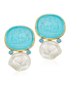 The Mazza Company Earrings Statement Jewelry, Pearl Jewelry, Jewelry Art, Vintage Jewelry, Jewelry Accessories, Fine Jewelry, Jewelry Design, Fashion Jewelry, Unique Earrings