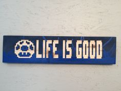 Life is Good Rustic Sign / Personalized Sign Distressed Wood/ reclaimed  wood/ Custom Carved Hand Painted Anniversary/ Housewarming Gift