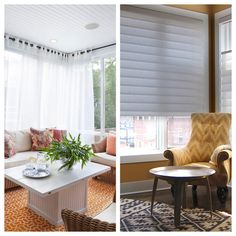 A Guide To Deciding Between Blinds And Curtains || Image Source: http://st.hzcdn.com/simgs/01d2a27302963ab7_8-7146/home-design.jpg