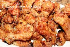 ~Crispy Oven Wings!   Oh Bite It