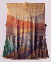 Kimono As Art: The Landscapes of Itchiku Kubota, at the Canton Museum of Art, March 2009.