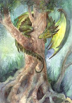 Tree Dragon by ArtLair