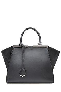 """Eleganz in Perfektion: das ist die Bag """"3Jours""""aus strukturiertem Leder vom Luxus-Label Fendi #Stylebop"""
