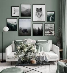 Gallery Wall Inspiration - Shop your Gallery Wall Home Decor Bedroom, Diy Home Decor, Inspiration Wand, Poster Store, Scandinavian Design, Gallery Wall, Wall Decor, Interior Design, Interior Decorating