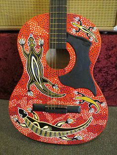 aboriginal guitar - Google Search