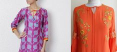 Whether you prefer an open neck or a fully covered neck, the right pattern can elevate your look and here are some of the latest churidar neck designs with images for inspiration. Chudi Neck Designs, Neck Designs For Suits, Blouse Back Neck Designs, Sleeves Designs For Dresses, Saree Blouse Designs, Salwar Kameez Neck Designs, Kurta Neck Design, Kurta Designs Women, Neck Pattern