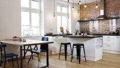 Interiér pod taktovkou severu Decor, Furniture, Table, Kitchen, Home, Interior, Home Decor