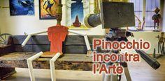Pinocchio incontra l'Arte