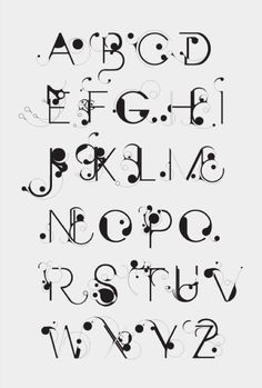 Saved by Erik Erdokozi on Designspiration Discover more Typography Bloob Nouveau Art Numbers inspiration. Typography Served, Hand Lettering Alphabet, Calligraphy Letters, Typography Letters, Word Art Fonts, Calligraphy Tattoo, Tattoo Fonts, Creative Lettering, Lettering Styles