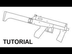 Tutorial — full auto mag fed rubber band gun - YouTube