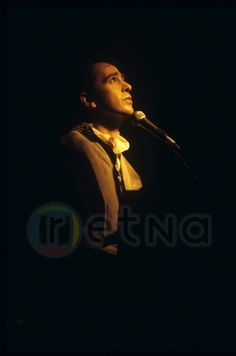 Peter Gabriel In concert at Maple Leaf Gardens, 1984 © Patrick Harbron