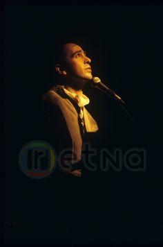 Peter Gabriel In concert at Maple Leaf Gardens, 1984 © Patrick Harbron