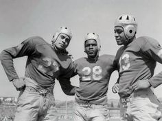 1939 UCLA Bruins' Gold Dust Trio (Woody Strode, Jackie Robinson, and Kenny Washington)