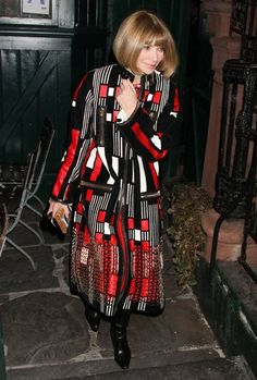 Anna Wintour - Kim and Kanye Get Dinner with Anna Wintour