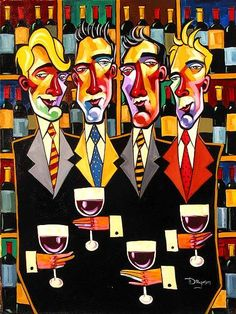 "Tim Rogerson ~ ""Wine and Watching"""