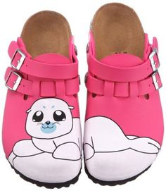 Birkis clogs Kay in size 26.0 N EU made of Birko-Flor in Seal Rose with a narrow insole Birki's. $56.14