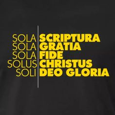 Christian Devotions, Christian Encouragement, Words Of Encouragement, Christian Quotes, Sola Fide, 5 Solas, Sola Scriptura, Bible Study Notebook, Church Logo