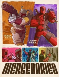 A Collection of Ridiculous Deadpool Crossover Art - So many awesome pictures! So difficult to choose!!