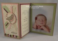 stampin up baby announcements - Google Search