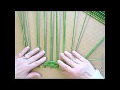 Донышко в виде ромба ситцевым плетением + МК листика | oblacco