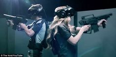 Is this the future of video games? New virtual reality system called The Void puts player INSIDE the action and could launch as soon as next summer | Users wear headsets and vests as they walk around warehouse facility where each room is used multiple times to create environments [Virtual Reality: http://futuristicnews.com/tag/virtual-reality/ VR Headsets: http://futuristicshop.com/category/video-glasses/]