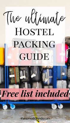 20 Essentials you need for your hostel stay in Japan – The Nomadic Panda | hostel packing list | ultimate packing list | backpacking | packing tips #hostellife #packinglist #japan #tokyo #traveltips | travel tips