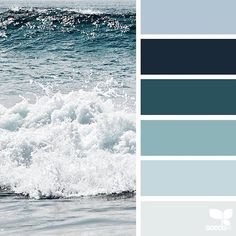 today's inspiration image for { color sea } is by @lbtoma ... thank you, Lina, for another amazing #SeedsColor image share!