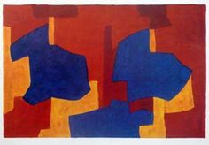 POLIAKOFF : lithographie-composition-poliakoff
