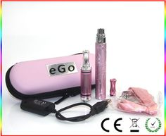 Ecig kits # ego color  battery # DCT atomizer # necklace # usb charger #