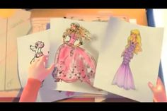 How To Draw Barbie A Fashion Fairytale Barbie fashion fairytale
