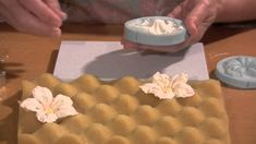How To Make A Gumpaste Petunia Flower  This video shows you how to make a gumpaste petunia using a silicone veiner