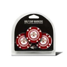 Iowa State Cyclones Golf Chip with Marker 3 Pack