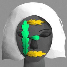 Illustration by Fabiola Correas #36daysoftype #36days_e #illustration #character #characterdesign #plants