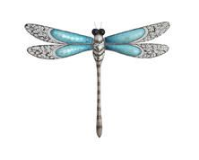 Dragonfly Metal Wall Art Hand Painted Home Decor (A) | Metal Wall Art,  Metal Walls And Dragonflies