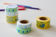 Your place to buy and sell all things handmade Masking Tape, Washi Tape, Peace Plant, Tove Jansson, Moomin, Art Journal Inspiration, College, Kawaii, Japan