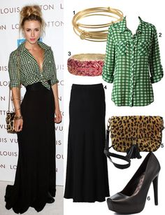 Gillian Zinser: Celebrity Style (but for me, button up that top!) :)