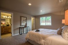 The Kelso by Hayden Homes - Master Bedroom - the Kelso offers 4 bedrooms and 2 bathrooms with 1,623 sq. feet.