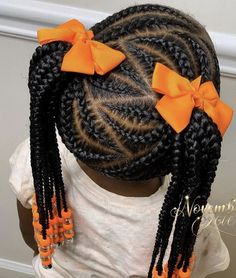 5 Simple & Easy Braid Style Tutorials for Little Girls Black Girl Hairstyles For. - 5 Simple & Easy Braid Style Tutorials for Little Girls Black Girl Hairstyles For Kids braid Easy Gi - Little Girl Braid Styles, Easy Braid Styles, Little Girl Braids, Black Girl Braids, Braids For Kids, Girls Braids, Kids Braids With Beads, Children Braids, Girl Hair Braids