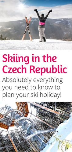 Planning a ski holiday in the Czech Republic this winter? Here's everything you need to know about skiing in the Czech Republic! #czechrepublic #skiing #100years #bohemia #moravia #prague
