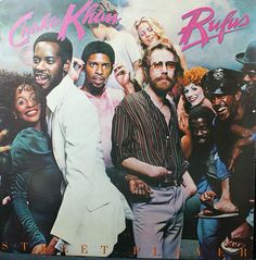 Chaka Khan & Rufus Vinyl Record Album, Street Player