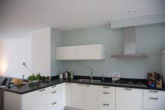 Afbeeldingsresultaat voor gekleurde keukenmuur