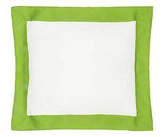 Cuscino arredo in lino Alain verde - 50x50 cm