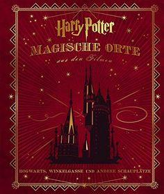 """Tolles Buch: """"Harry Potter: Magische Orte aus den Filmen: Hogwarts, Winkelgasse und andere Schauplätze""""  Eine Bereicherung für jeden Harry Potter Fan! #geschenkidee #geschenk #gift #idea #harry #potter #harrypotter"""