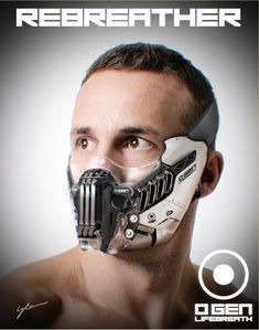 Arte Tech, Fashion Mask, Mens Fashion, Mode Steampunk, Wolf Mask, Sci Fi Armor, Body Armor, Armor Suit, Armor Concept