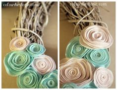 Diy wreath- add baby name or first letter of baby name