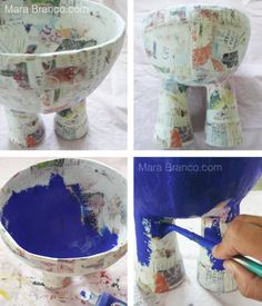 Jeans Bowl by Mara Branco Tutorial 2