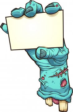 Illustration about Cartoon severed zombie hand holding a blank card. Vector clip art illustration with simple gradients. All in a single layer. Illustration of simple, severed, cartoon - 139012474 Graffiti Doodles, Graffiti Drawing, Graffiti Lettering, Graffiti Art, Arte Zombie, Zombie Art, Zombie Cartoon, Cartoon Art, Zombie Disney