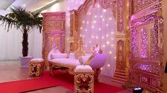 Décoration de mariage Bollywood Or - Espace Evénement Nord